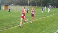 The race to the finish. Final 400m.