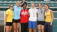 Girls Pole Vault - Medal Winners