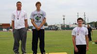 Boys Pole Vault - Medal Winners