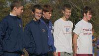 Boys Varsity Top 5 Finishers - Ryan Witt, Brandon Miles, Chris Clarke, Cary Chaffee, Alex Tatu