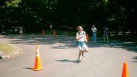 Spring Valley\'s Reid Wilson finishing fourth in 15:52.