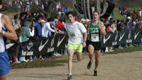 In 14th position with a huge personal best time of 15:24 is Virgina\'s Richard Andrews (51).